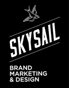 skysail brand marketing and design logo